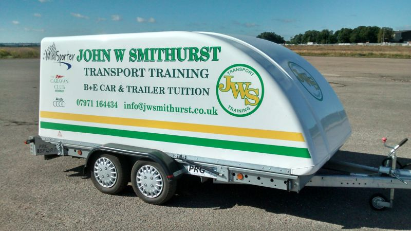 Trailer used for B+ E Training.: Swipe To View More Images