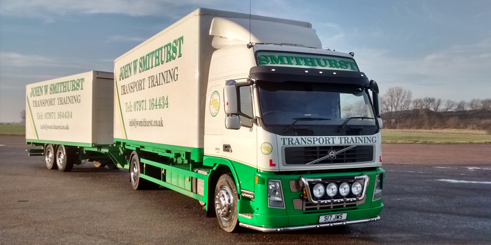 HGV lorry training