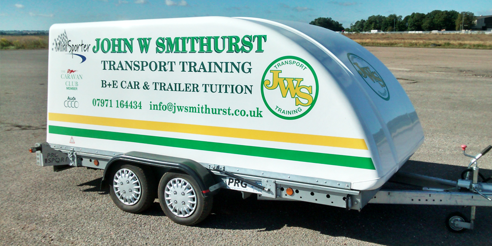 B+E car and trailer tuition
